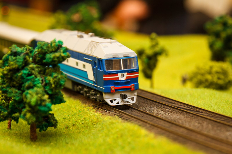 鉄道模型を塗る