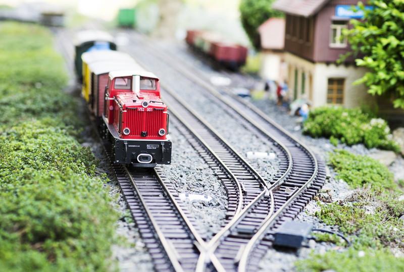かわいい鉄道模型